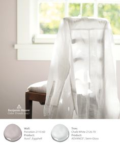 I love the pink hue of the wall color, but it isn't overpowering...very romantic and soft....would love to have an office with walls this color...