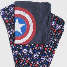 Captain America leggings Facebook group LuLaRoe Adrienne Haskins