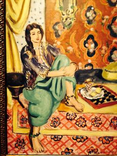 The Odalisque. Matisse