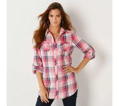 Košilová tunika s límečkem, kostkovaná | vyprodej-slevy.cz #vyprodejslevy #vyprodejslecycz #vyprodejslevy_cz #moda #damskamoda #xxlmoda #xxl Plaid, Bikini, Shirts, Women, Fashion, Tunic, Gingham, Bikini Swimsuit, Moda
