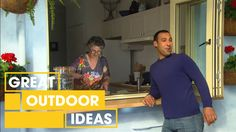 Kickstart your outdoor entertaining with a Moroccan-inspired outdoor area makeover! Including a budget-friendly outdoor kitchen, serving area and heaps of in. Dyi, Outdoor Cooking, Outdoor Entertaining, Makeover Tips, Interior Stairs, Diy Patio, Moroccan Style, Outdoor Areas, Better Homes And Gardens