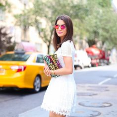 Look do dia: White Summer Dress