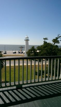 View from Biloxi Visitors Center