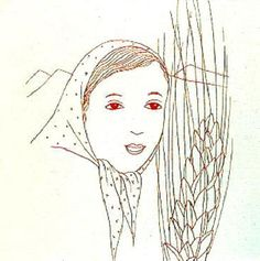 A Girl in the Scarf  - Toyen