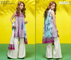 Warda Chicken Kari Lawn Collection 2017 Full Catalogue,It's essential to light up your Spring Evening party with your staggering and astonishing look In the Summer Chicken, Pakistani Dresses Casual, Stunning Summer, Embroidery Suits, Pakistan Fashion, Beautiful Patterns, Designer Collection, Summer Collection, Designer Dresses