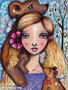 by Tamara Laporte of Willowing Arts Kunstjournal Inspiration, Art Journal Inspiration, Mixed Media Faces, Mixed Media Art, Original Art, Original Paintings, Online Art Classes, Art Archive, Mixed Media Painting