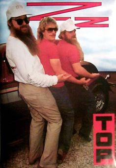 Hit the Road with the Hot-Rodding Texas Blues band ZZ Top! An original poster published in 1986. Fully licensed. Ships fast. 23x35 inches. Need Poster Mounts..? bm2163