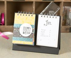 perpetual birthday calendar crafty featuring Fun Stampers Journey