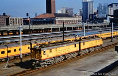 the Olympian Hiawatha of The Milwaukee Road preparing to leave Union Station in Seattle headed to Tacoma
