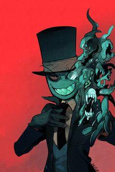 Black Hat Bake Shoppe Trunk or Treat Villainous Cartoon, A Cartoon, Cartoon Network, Steven Universe, Disney Pixar, Character Concept, Character Design, Ghibli, Spiderman