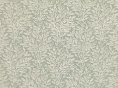 A beautiful printed linen featuring decorative oak leaves with a hand-blocked appearance. Romo Fabrics, Upholstery Fabrics, Oak Leaves, Silver Lake, Printed Linen, Fabric Design, Weaving, Clay, Tapestry