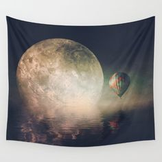 Nearby Wall Tapestry