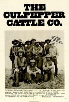 Culpepper Cattle Company 27x40 Movie Poster (1972)