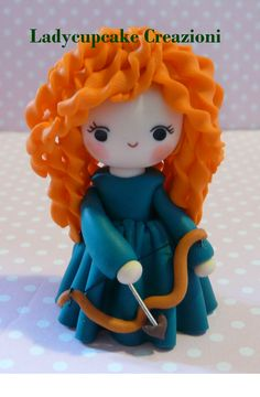 POLYMER CLAY, MASA FLEXIBLE, PASTA FRANCESA, COLD PORCELAIN, CERNIT, PORCELANA FRIA, PASTA FLEXIBLE, BISCUIT, FIMO MERIDA RIBELLE DISNEY