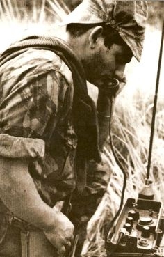 Portuguese army radio operator -African Colonial War 1961-74