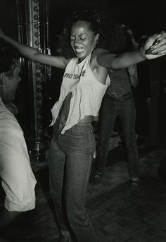 Diana Ross at Studio 54 circa 1979 in New York City