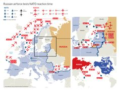 Russian aircraft probing NATO airforce