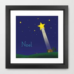 Noel Framed Art Print by Heavenlee Days - $33.00