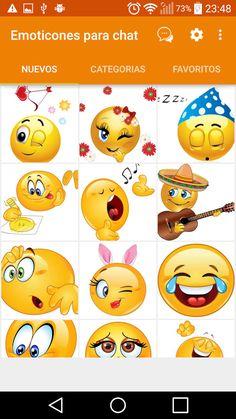 Emoticonos para whatsapp: captura de pantalla