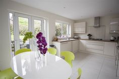 33 Lakeview Manor, Newtownards #kitchen #diningroom #propertynews #northernireland #newtownards #propertynews Semi Detached, Lake View, Property For Sale, Contemporary Kitchens, Belfast, Dining Rooms, Table, Furniture, Home Decor