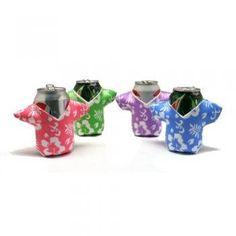 51271dd66b8 Foam Hawaiian Shirt Can Coolio s Coolers - Tiki Luau Koozie Time! (12) for