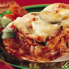 From one of my absolute favorite cooking websites: eatbetteramerica. We make this Healthified Roasted Vegetable Lasagna regularly. A recipe with less cheese+more veggies= guilt-free deliciousness! recipes-and-cooking shandimkv Roasted Vegetable Lasagna, Vegetable Lasagna Recipes, Roasted Vegetables, Veggies, Veg Dishes, Pasta Dishes, Main Dishes, Side Dishes, Kitchen Recipes