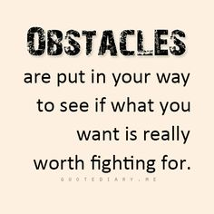 I'm starting to realize exactly what I want and that it is definitely worth fighting for!