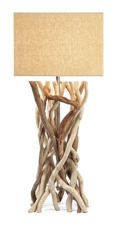 IMAX Explorer Drift Wood Table Lamp: