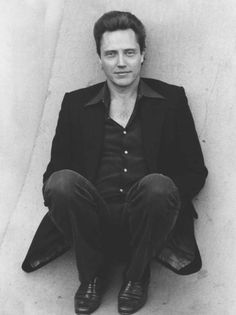 Christopher Walken - wow, he was actually young at one point! ;p