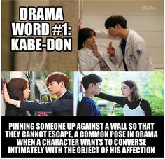 Don't you love when this happens in dramas? ^_^