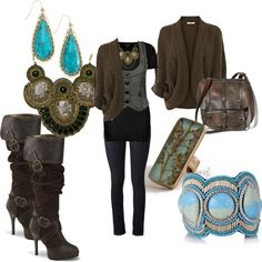 Steampunk Boho in the Fall by anorin-arssinous on Polyvore featuring Oasis…