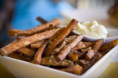 Umami Burger. Sweet Potato Fries. Go Get 'Em.