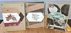 Rhapsody in Craft: Stampin' Up - Art With Heart Team Blog Hop February 2020- Masculine Themed Cards