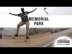 """Manny Mondays: Memorial Park - http://DAILYSKATETUBE.COM/manny-mondays-memorial-park/ - A day at Memo Park could lead to just about anything. Kellen James, Larelle Gray, Darius """"Woogie"""" Jackson, and Alexis Ramirez put their manny skills to the test and killed it. Video / ZACK MACK Music / KING CHOOSEY Follow TWS for the latest: Daily videos, photos and more: htt - manny, memorial, mondays, park"""