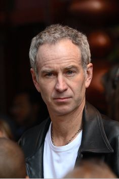 Made watching tennis more .... John McEnroe
