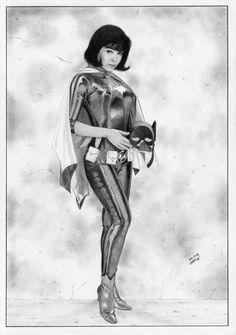 Batgirl Yvonne Craig TV Show by TimGrayson.deviantart.com on @DeviantArt