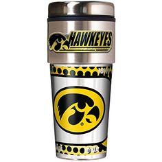 Iowa Hawkeyes Travel Mug