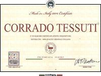 Attestato Certificazione Prodotti Made in Italy