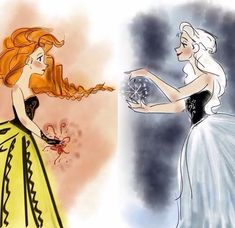 "vuelie: "" mydisneyprincess13: "" sisters - frozen "" beautiful. """
