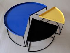 'Piechart Table,' by Porky Hefer Design, in collaboration with Simon Beebe Vernacular Architecture, Architecture Design, South African Design, Nesting Tables, Interior Inspiration, Interior Design, Chair, Collaboration, Furniture