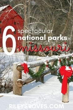 Did you know there are six national parks in Missouri? Click here for the list, including the park that could be next. Plus, download my free checklist!   National Parks in Missouri   Missouri National Parks #nationalparks #missouri #usa