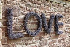 Provence avec l'amour...lavender letters.