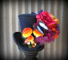 The Caterpillar Mini Top Hat from Alice in Wonderland by ChikiBird, $68.00