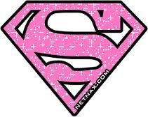 Pink Superman Logo