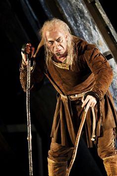 Дмитрий Хворостовский в роли Риголетто, Лондон 11.10.2010.