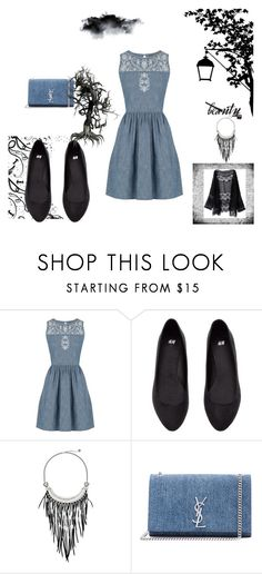 """Storm"" by ayas-25 on Polyvore featuring мода, Oasis, The Sak и Yves Saint Laurent"