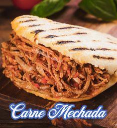 Carne Mechada Recipe, Columbian Recipes, Venezuelan Food, Colombian Food, Happy Kitchen, Cooking Recipes, Healthy Recipes, Caribbean Recipes, Soul Food