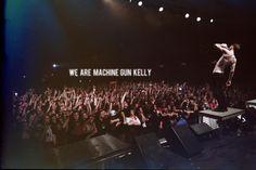 we. are. machine gun kelly. <3