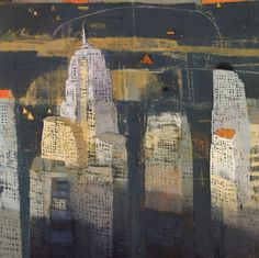 Cityscape, landscape and still life prints from artist Paul Balmer Urban Landscape, Abstract Landscape, Landscape Paintings, Abstract Art, Oil Paintings, Andrew Wyeth, Nocturne, Urbane Kunst, Cityscape Art