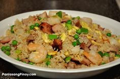 Yang Chow Fried Rice. Absolute classic flavour combination.